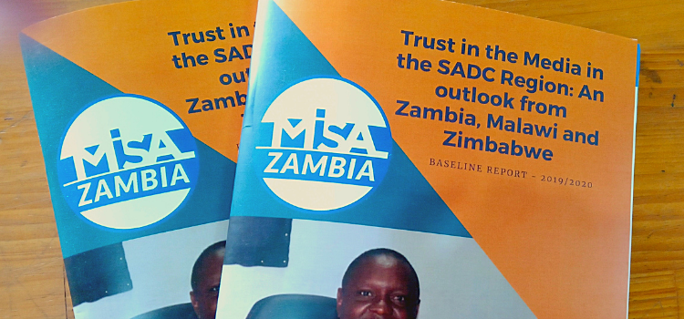 Trust in the Media Baseline Report launched