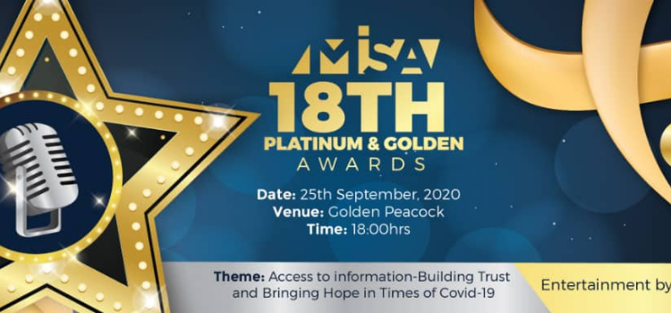 MISA Zambia hosts the 2020 Platinum and Golden media awards