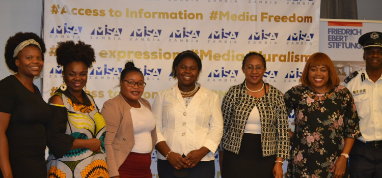 MISA Zambia launches State of the Media report